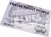 friday night blues card