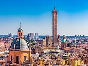 Bologna ponte 25 aprile
